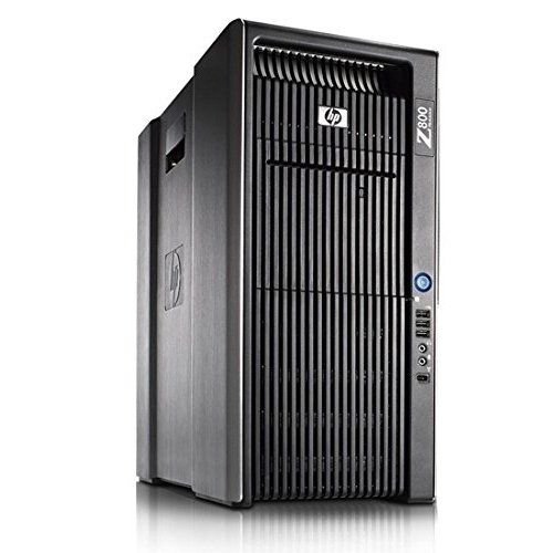 HP Z800 Workstation - 2x Intel Xeon 2.66GHz X5650 Hex Core (12 Total Cores), 32GB DDR3, 2x New 1TB HDD, NVIDIA Dual Video Out (Certified Refurbished) by HP