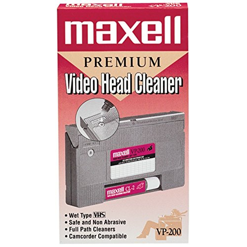 MAXELL 290038 Video Head Cleaner by Maxell
