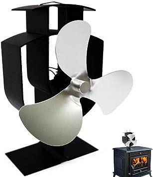 Ventilador de Estufa Accionado Por Calor de 3 Palas,Ventilador de ...