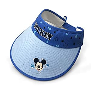 Surmoler Sun Visors Mickey Style Sun Hat UV Protection Summer Beach Packable Visor for Boys, Girls, Children Parties – Disney Mickey
