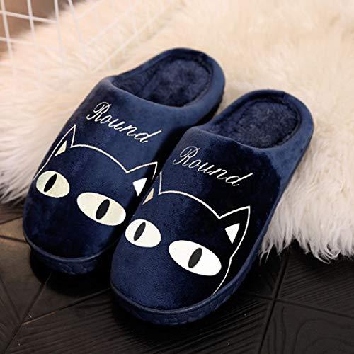 E Morbide Donna Super Per Da Comode Nikimi Primavera Ragazze Blu Pantofole Le Casa Profondo Yw04Fq6S