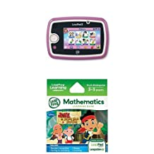 Leapfrog Leappad3 Kids' Learning Tablet, Pink + LeapFrog Explorer Learning Game: Disney Jake and the Never Land Pirates Bundle