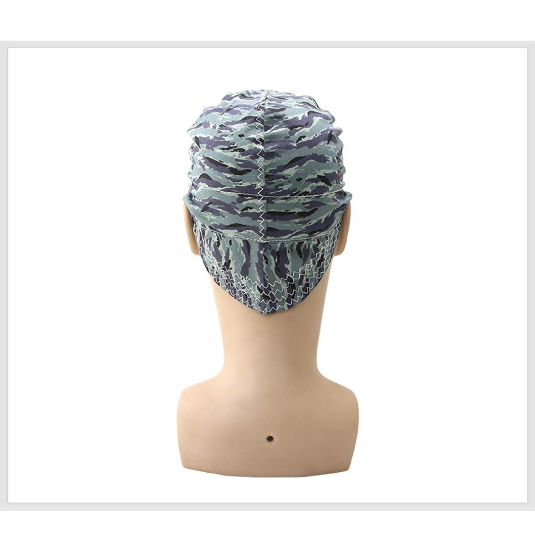 ZPL Estilo de Moda Elástico Tapas de Soldadura para soldadores Retardante de Llama Sombrero de algodón Gorra Protección de la Cabeza, Adecuado para la ...