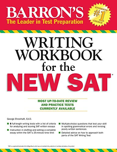 Barron's New SAT Writing Workbook, 4th Edition