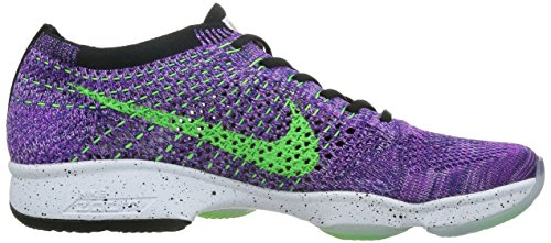 Agility Nike 501 Tennis Women's Flyknit Purple Zoom Voltage Green Vivid WMNS qqwTgPtBp