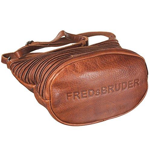 FredsBruder Riffelinchen Borsa a tracolla cognac