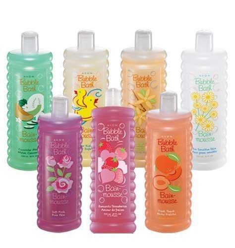 Avon Bubble Bath Vanilla Cream for Dry Skin 24oz