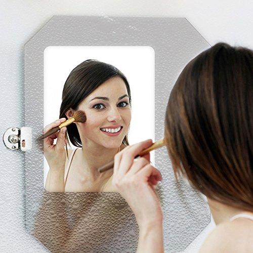 HOHO 60''x20'' Clear Anti-fogging Film Fogless Protective Film Self Adheisve Anti Fog Film for Bathroom Mirror,Swim Goggles & Car Rearview Mirror by HOHO