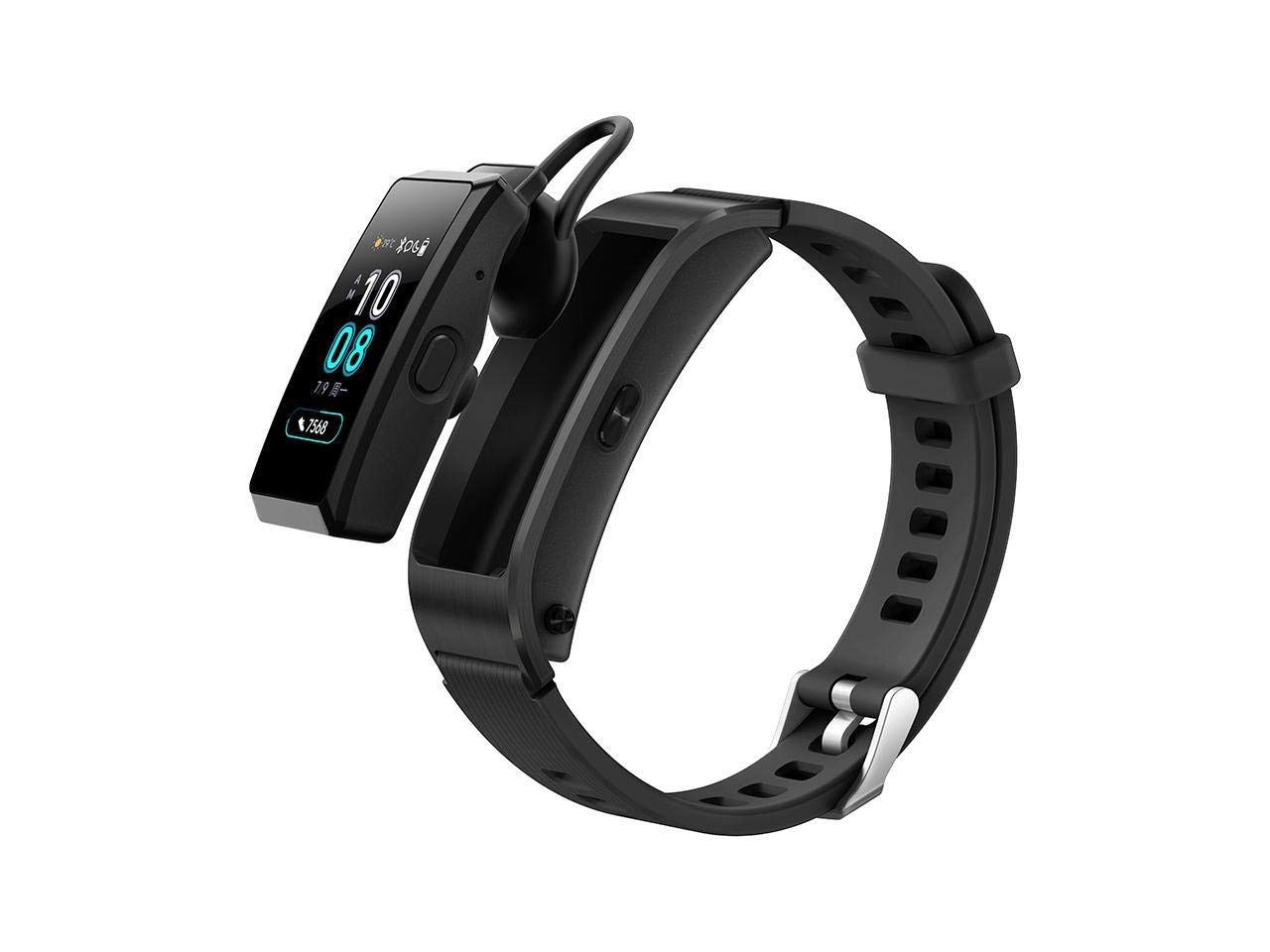 HUAWEI TalkBand B5 2018 Active Edition Wristband Fitness Tracker Sport Band Headset Function (Bluetooth handsfree) JNS-BX9 (Black)