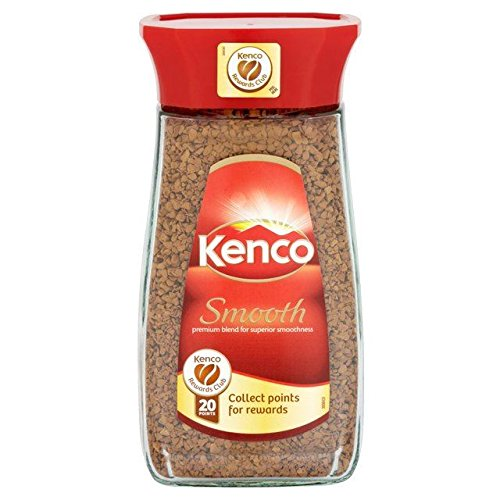 Smooth Instant Coffee - Kenco Freeze Dried Smooth Coffee - 100g