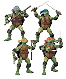 ninja turtle classic movie - Teenage Mutant Ninja Turtles Set of 4 Exclusive Classics Movie Action Figures [Donatello, Raphael, Michelangelo & Leonardo]