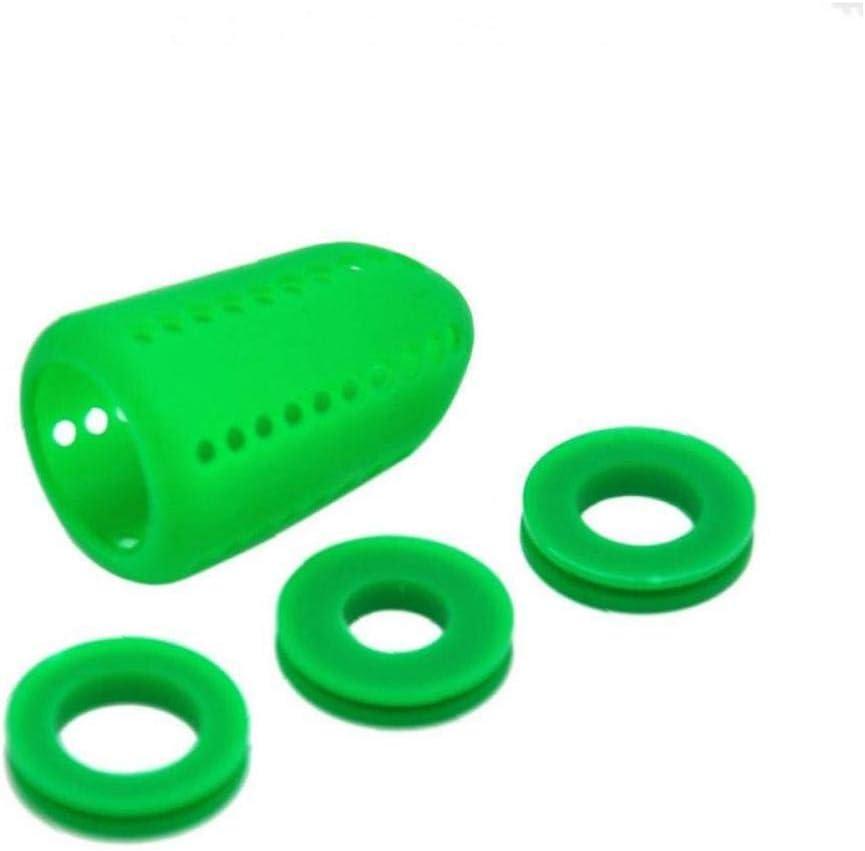 Bontand 4pcs / Set Agua Pipa De Silicona Silenciador Silenciador De Agua La Pipa De Narguile Shisha Accesorios Color Azar