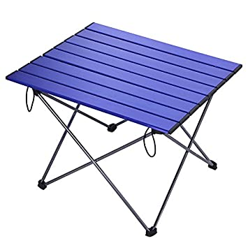 15feb8617081 Amazon.com : Aobeau Outdoor Folding Table Camping Picnic Aluminum ...