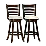 Best Bar Stools - CorLiving DWG-919-B Woodgrove 43-Inch Cappuccino Wood Barstool Review