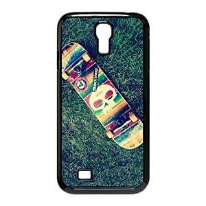 Custom Your Own Skateboard Grass Nature Photo SamSung Galaxy S4 I9500 Case , Special designer SkateboardGalaxy S4 Case by icecream design