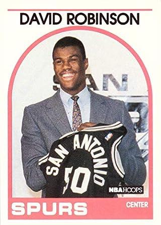 Amazoncom 1989 90 Nba Hoops Basketball 138 David Robinson