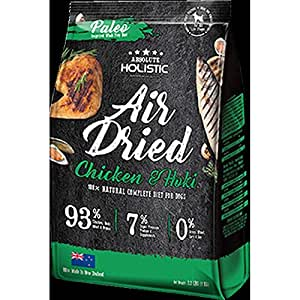 Absolute Holistic Air Dried Dog Diet - Chicken & Hoki 1kg