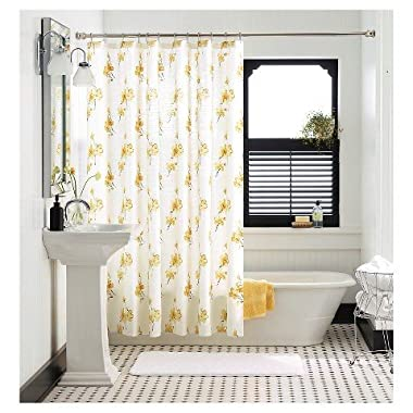 Threshold™ Vintage Floral Shower Curtain - Yellow