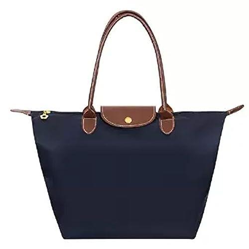 Women's Foldable Large Tote Bags Shopping Beach Shoulder Handbags Purse