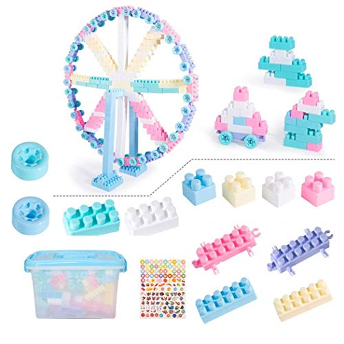 Lantusi New Kids Children Building Blocks Toys Puzzle Insert DIY Toys Stacking Blocks
