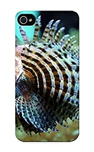 New Style Summerlemond Hard Case Cover Case For Sam Sung Galaxy S4 Mini Cover - Animal Lion Fish