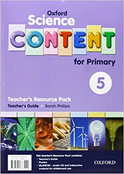 Book Science Content 5th Primary. Pack (Teacher's Resource)