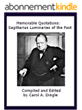 Memorable Quotations: Sagittarius Luminaries of the Past (English Edition)