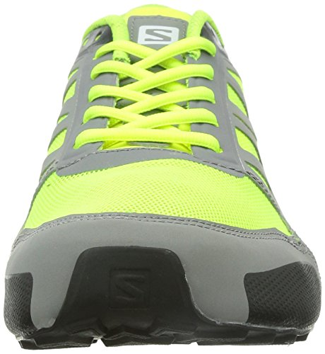Men fluoyellow Aero black City Cross Salomon pewter CB6v4qxw