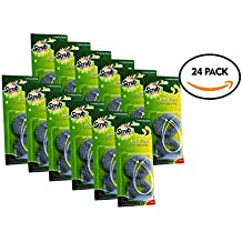 24 Premium Lint Traps with 24 long lasting ties for Washing Machines By Scrub-It. Light Aluminum mesh filter Won't Rust, Easy Installation,12 pack (x2)