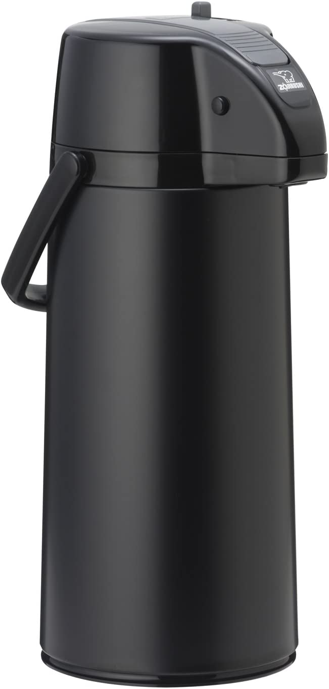 Zojirushi Premier Air Pot Beverage Dispenser, Matte Black