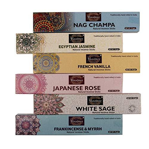 raajsee Incense Sticks Assorted Packs (Pack 2)