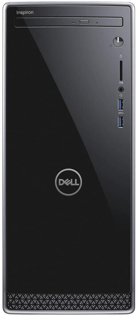 Latest_Dell Inspiron 3670 High Performance Desktop, 9th Generation Intel Core i5-9400 Processor, 12GB DDR4 RAM, 128GB-SSD + 1TB HDD, Webcam, Wireless+Bluetooth, HDMI,Window 10