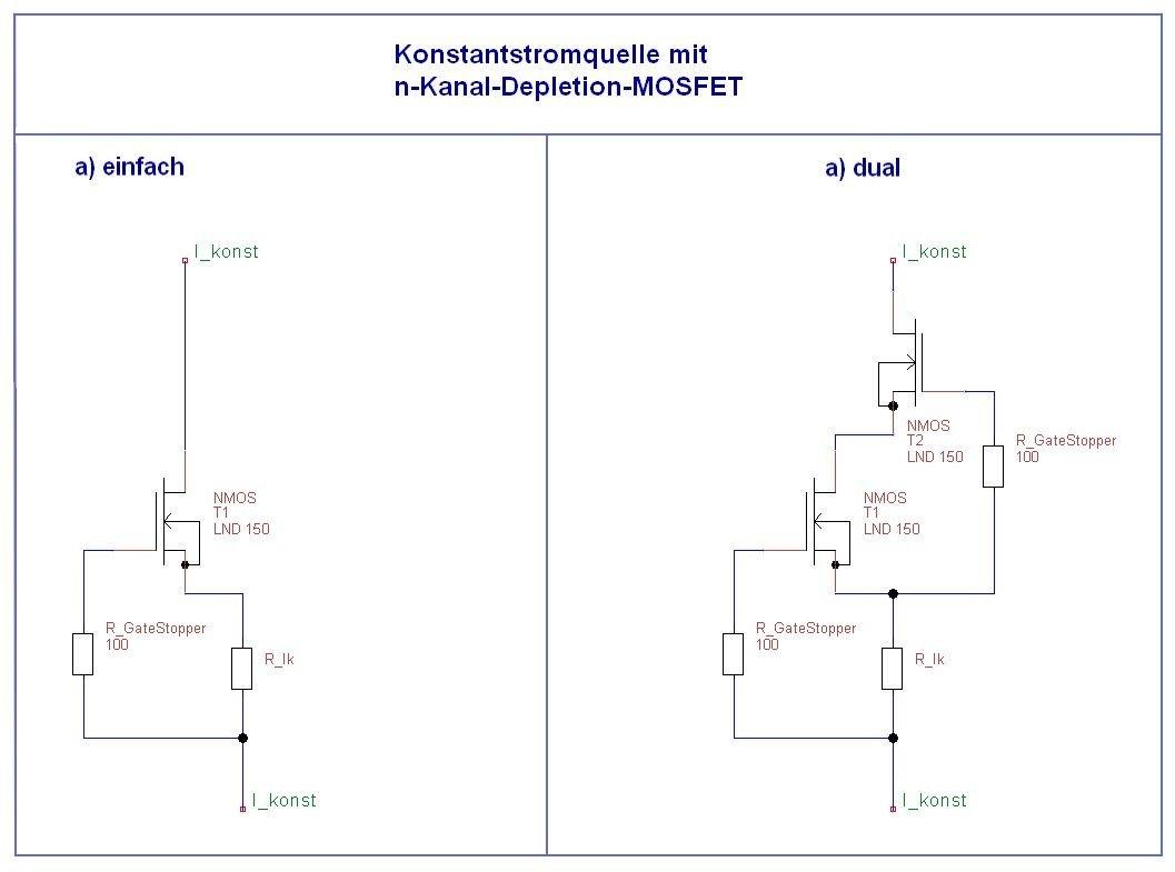 Hochvolt N-Kanal MOSFET LND150 N3-G 500V Konstantstrom Quelle Röhren ...