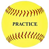 Practice Softball, Yellow, 12-Inch (One Dozen)