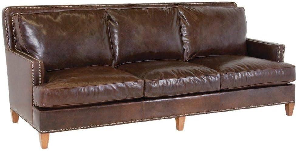 Sofá de cuero Kos de 3 plazas: Amazon.es: Hogar