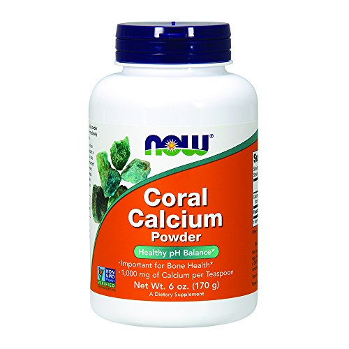 NOW Coral Calcium Powder 6 Ounce