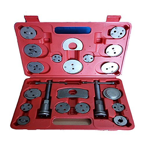 7 Piece Grease Adapter (21 pcs Universal Disc Brake Caliper Wind Back Tool Kit for Disk Brake Pad Replacement)