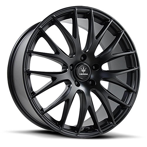 Verde Custom Wheels Saga Wheel with Satin Black Finish (18x8