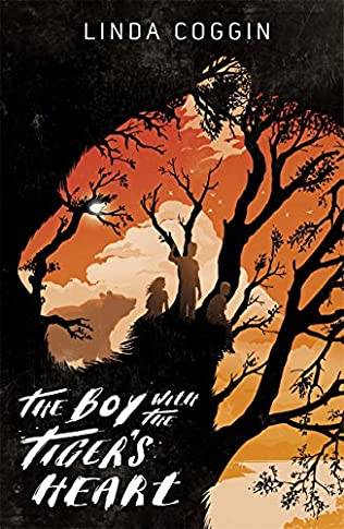 book cover of The Boy with the Tiger\'s Heart