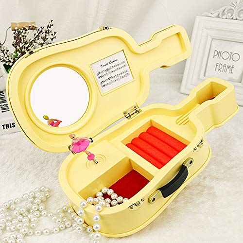 AMOFINY Fashion Baby Toys New Guitar Box Christmas Birthday Music Box Best Gift Table ()