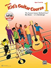 Alfred's Kid's Guitar Course is a fun method that teaches you to play songs on the guitar right away. Each lesson on every colorful page is explained in plain language that's easy to understand, and accompanying audio that you can stream or d...