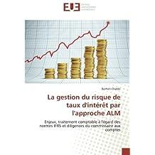 La gestion du risque de taux d'intérêt par l'approche ALM: Enjeux, traitement comptable à l'égard des normes IFRS et diligences du commissaire aux comptes