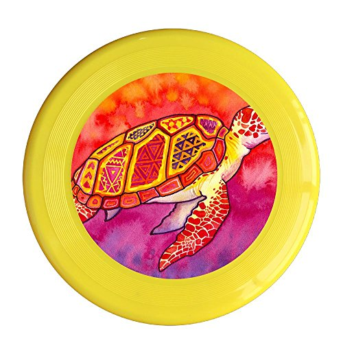 St Johns Red Sea (Red Sea Turtles Pet's Safe Plastic Frisbee Flying Saucer Flying Disc Sport Disc Fun Flyer Frisbee Yellow)