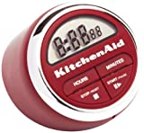 : KitchenAid Digital Kitchen Timer, Red