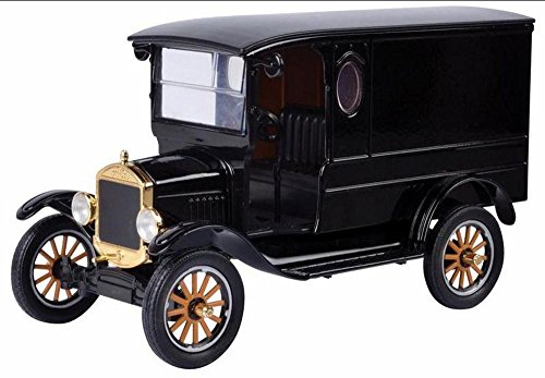 Motormax 1925 Ford Model T Paddy Wagon, Black 79316PTM - 1/24 Scale Diecast Model Toy Car (Model Car Ford Henry)