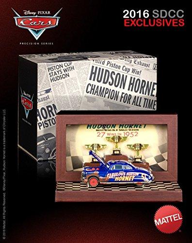 2016 SDCC Comic Con Mattel Exclusive Disney Pixar Cars Precision Series Die-Cast Dirt Track Fabulous Hudson Hornet Vehicle - Exclusive Car Series