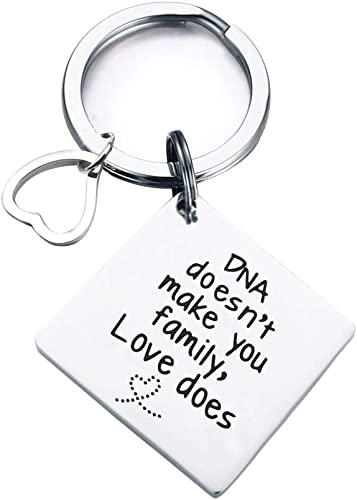 Stepdad Gift Birthday Key Ring Personalised To Be Present Fathers Day Idea