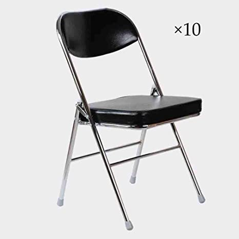 Liuhuan - Juego de 10 sillas Plegables con Estructura de ...
