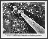 8x10 Photo~ Heavy Metal ~1981 ~Gloria & The Professor ~Alien Ship Tube ~Cartoon