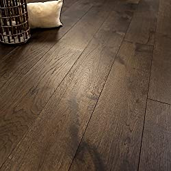 Wide Plank 7 1/2 x 1/2 European French Oak (Bastille) Prefinished Engineered Wood Flooring Sample at Discount Prices by Hurst Hardwoods
